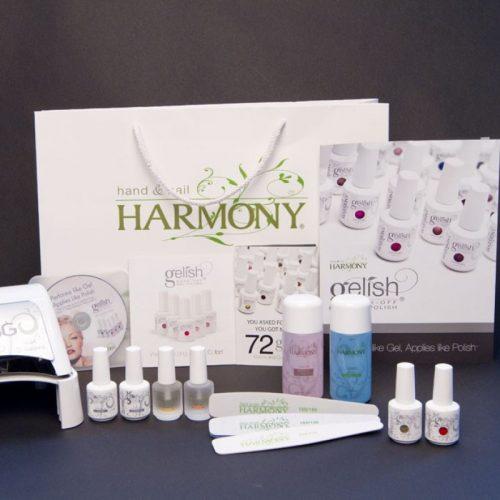 Gelish Harmony Gel Nail Starter Kit