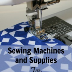 Sewing Machines and Supplies for Tweens and Teens