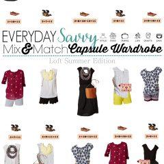 4.25 Capsule Wardrobe - Loft Summer Edition VERTICAL