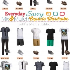 5.25 Mix and Match Men's Kohl's Fashion VERTICAL