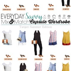 5.24 Capsule Wardrobe - Target Summer Edition VERTICAL
