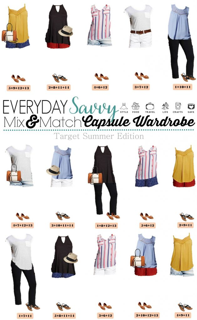 Target Summer Capsule Wardrobe Mix Amp Match