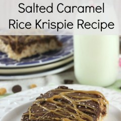 salted caramel rice krispie recipe