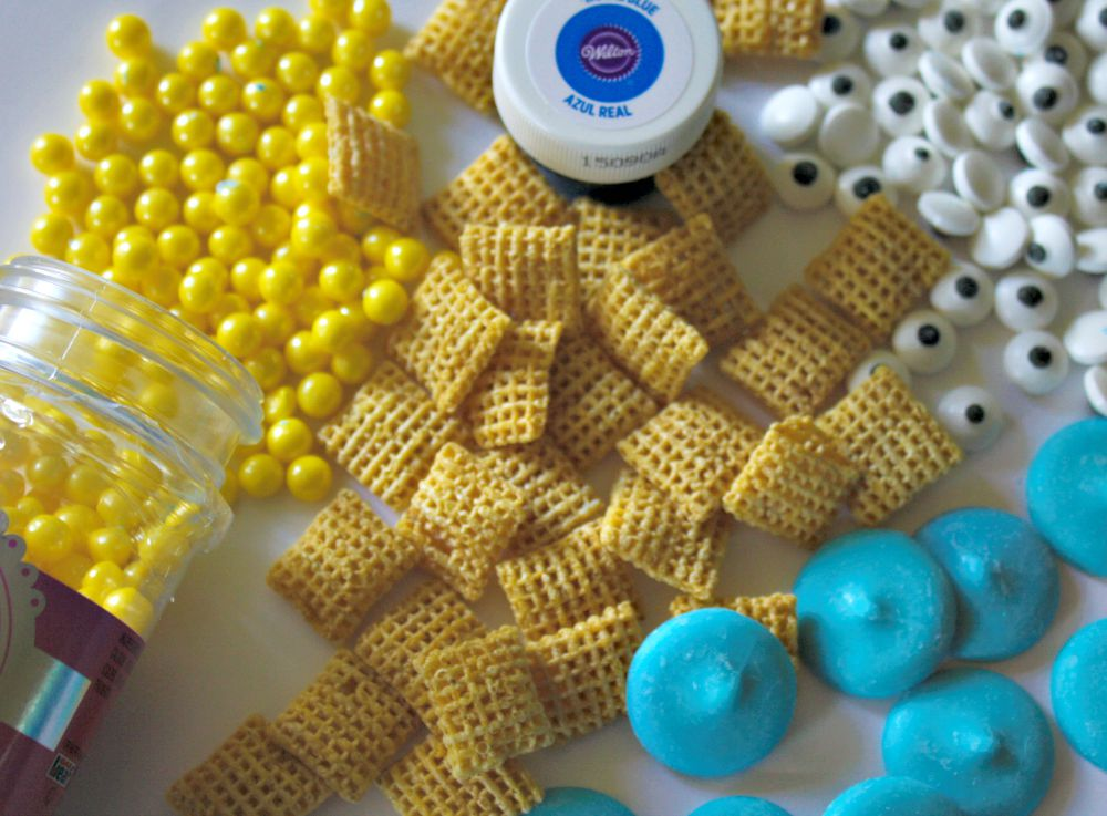 Minion Snack Mix Ingredients