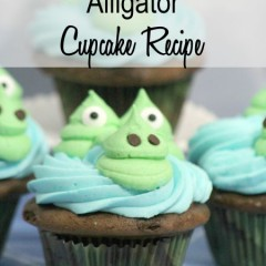 alligator cupcake recipe