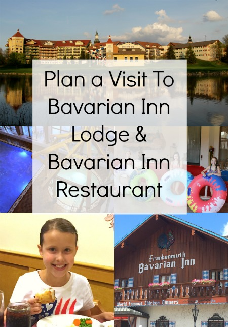 Plan a visit to the Bavarian Inn Lodge and Bavarian Inn Restaurant. Pictures of pools, slides, mini golf and chicken dinner.