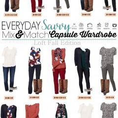 8.10 Capsule Wardrobe - Loft Fall Edition VERTICAL