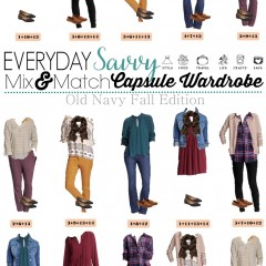 8.17 Capsule Wardrobe - Old Navy Fall Edition VERTICAL