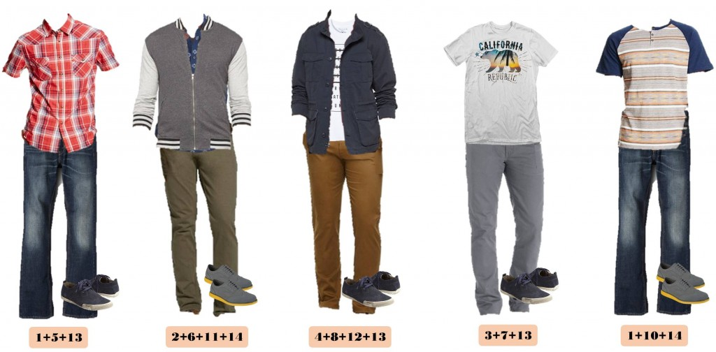 Boys Teenage Back To School Outfits