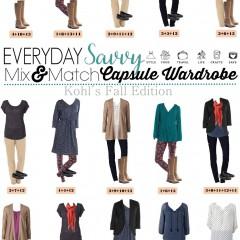 8.31 Capsule Wardrobe - Fall Kohl's Edition VERTICAL