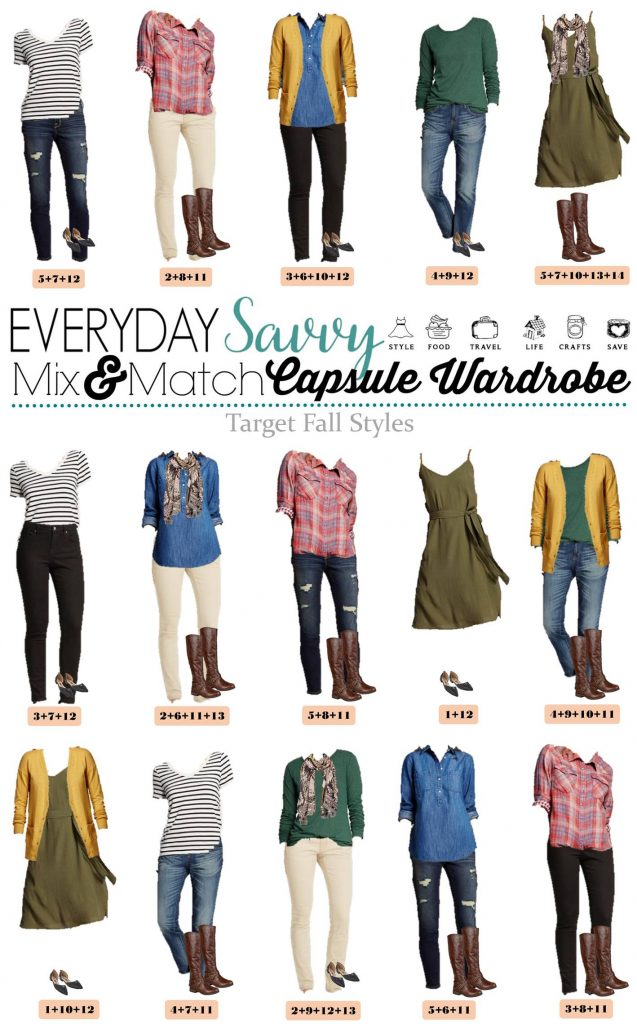 family photo clothing ideas for summer - Tar Fall Capsule Wardrobe