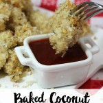 Baked Coconut Chicken Nuggets Recipe