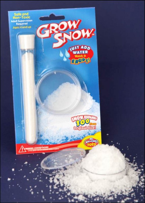Be Amazing Grow Snow Stocking Stuffer Idea for Kids