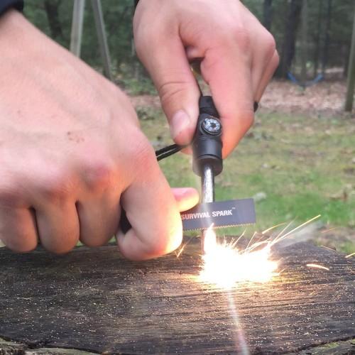 Firestarter SurvivalSpark Gift Idea for Men