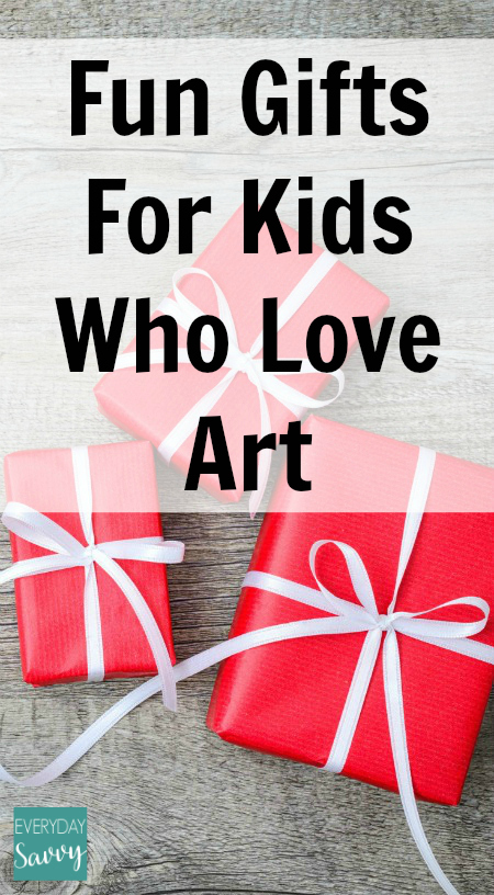 Fun Gifts for Boys and Girls Who Love Art