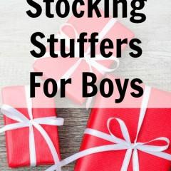Fun Stocking Stuffers for Boys