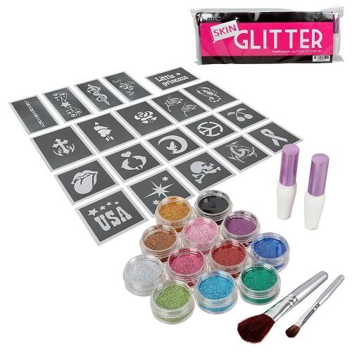 Glitter Art Tattoo
