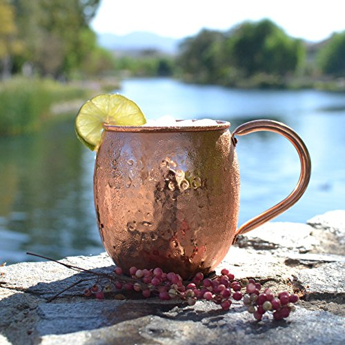 Moscow Mule Copper Mug Gift Idea for Men