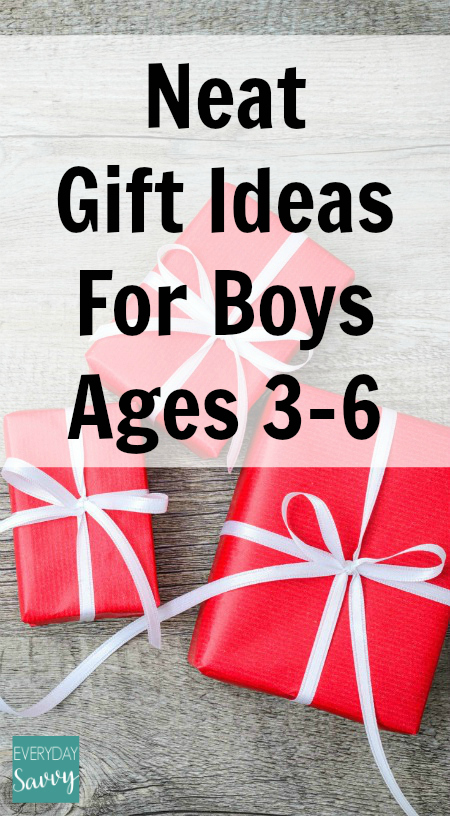Neat Gift Ideas for Boys 3 4 5 & 6