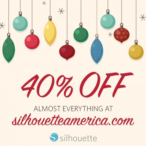Silhouette Black Friday 2015 40 Off