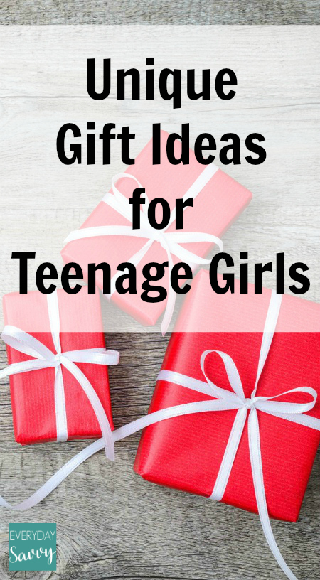 Unique Gift Ideas for Teenage Girls