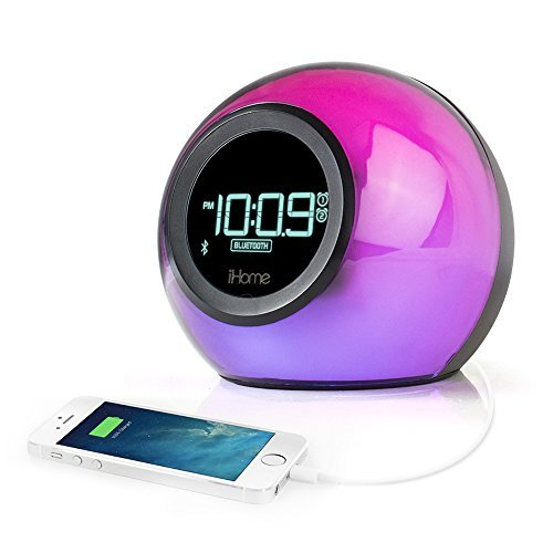 Permalink to Ihome Color Changing Alarm Clock Bluetooth