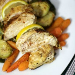 lemon dump chicken