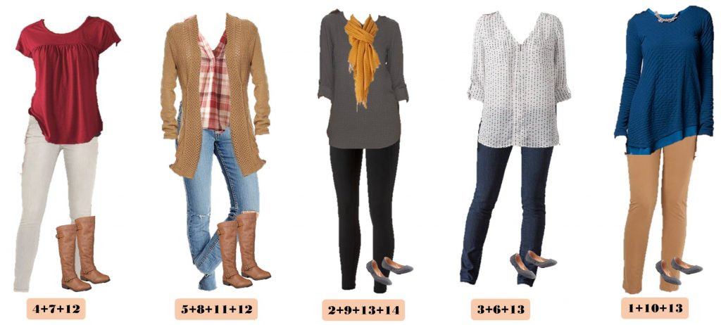 Here is a new board full of casual fall outfits for fall. These pieces mix and match for 15 great outfits that will have you looking great this fall. I love the mustard yellow and plaid for fall.