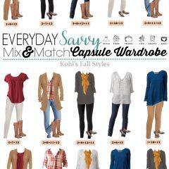 8.23 Capsule Wardrobe - Kohls Fall Styles VERTICAL