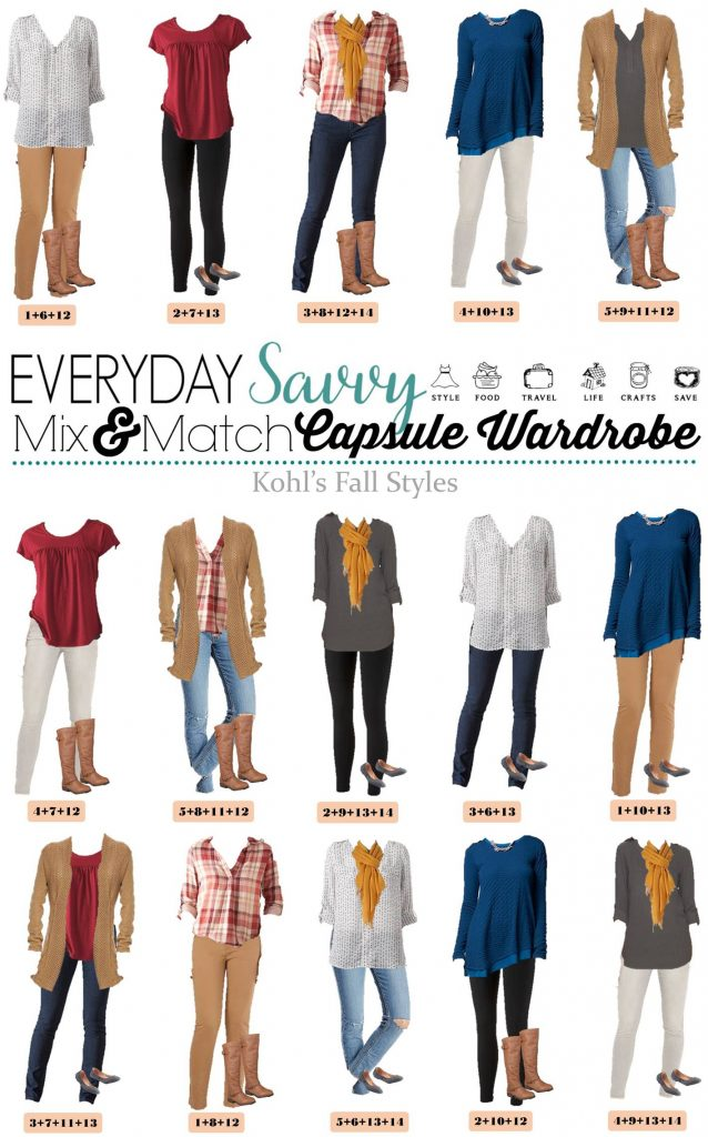 Prime Mix And Match Casual Fall Outfits From Kohls Short Hairstyles Gunalazisus