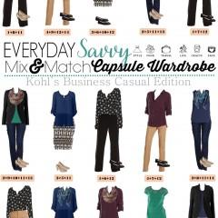 9.14 Capsule Wardrobe - Kohls Business Casual VERTICAL