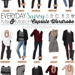 9.21 Capsule Wardrobe - Loft Fall Edition VERTICAL