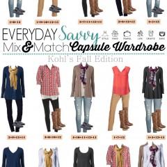 9.28 Capsule Wardrobe - Kohl's Fall Edition VERTICAL