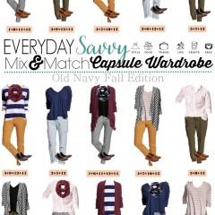9.7 Capsule Wardrobe - Old Navy Fall VERTICAL