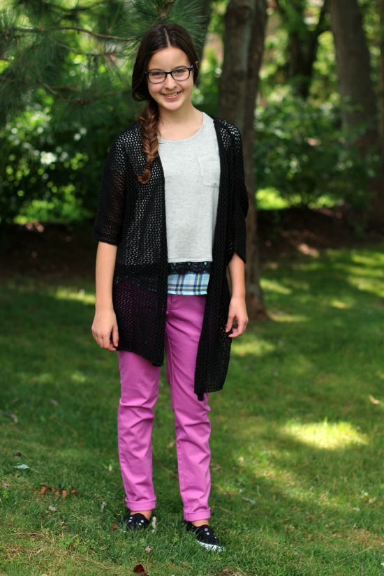 Cute Back to School Style looks from Kmart for a middle school girl.