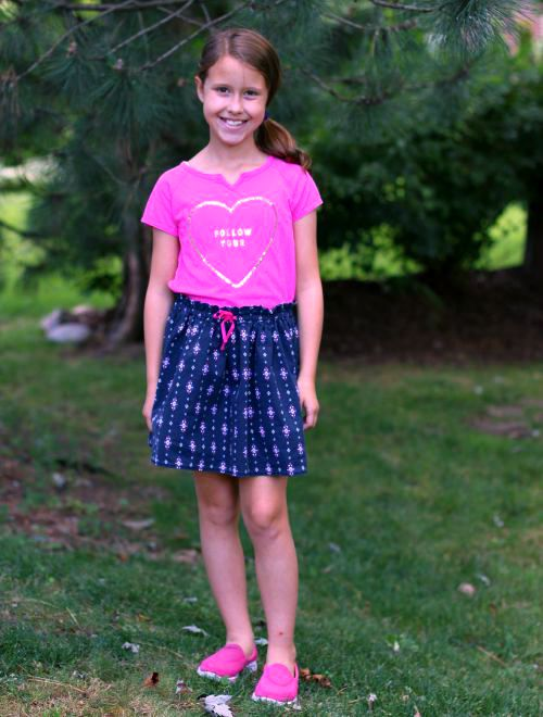 Check out fun outfits from OshKosh B'gosh for back to school plus OshKosh B'gosh coupon code and printable coupon