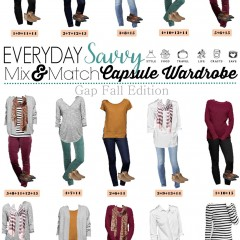 10.12 Capsule Wardrobe - Gap Fall Styles VERTICAL