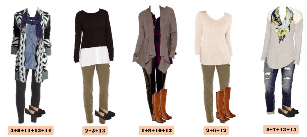 Fall Casual Outfits Jcpenney Capsule Wardrobe