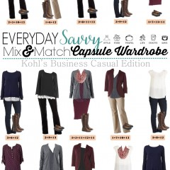 10.26 Capsule Wardrobe - Kohl's Business Casual Style VERTICAL