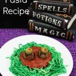 Monster Pasta Recipe – Great Halloween Meal