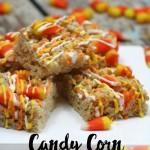 Candy Corn Rice Crispy Treats Recipe