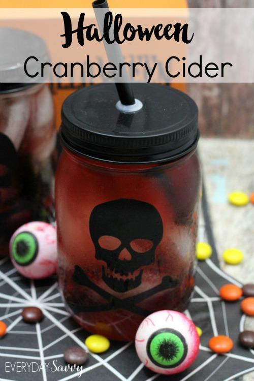 halloween cranberry cider