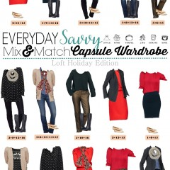 11.22 Capsule Wardrobe - Loft Holiday Edition VERTICAL