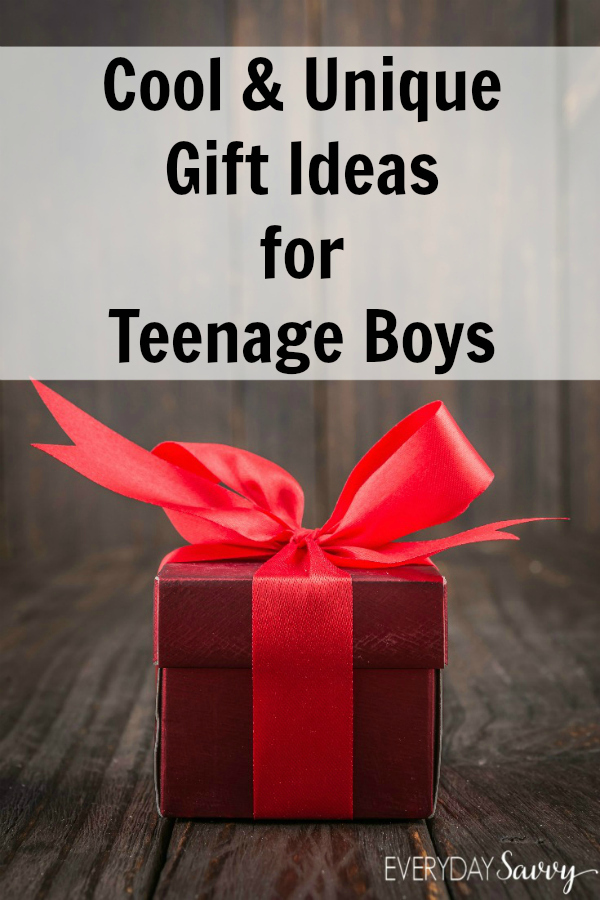 Cool and Unique Gift Ideas for Teenage Boys