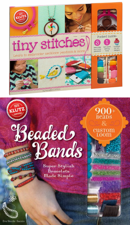 klutz-tiny-stitches-and-klutz-beaded-bands-gift-idea-for-tween-girls