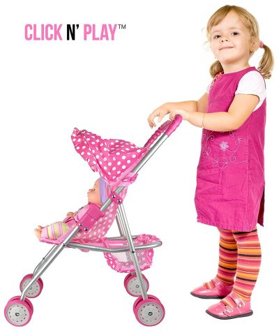 precious-toys-pink-and-white-stroller-gift-idea-for-toddler-girls