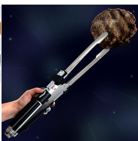 Star Wars Light Saber grilling tongs