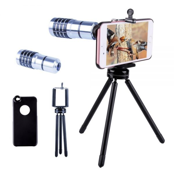 Telephoto lens for iPhone gift idea for teenage boys