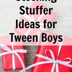 Unique Stocking Stuffer Ideas for Tween Boys
