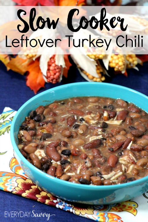 The age old question after Thanksgiving is what to do with the leftover turkey. One great way to use it is this slow cooker leftover turkey recipe. This recipe is so simple and you can easily have all the items on hand for a yummy meal the day after Thanksgiving.